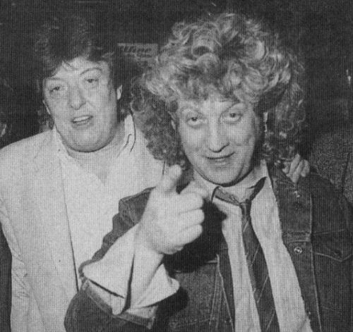 264 1 Chas Chandler met Noddy Holder zanger Slade