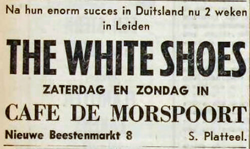 285 5 White Shoes 1964 okt 16 Leidsche Dagblad