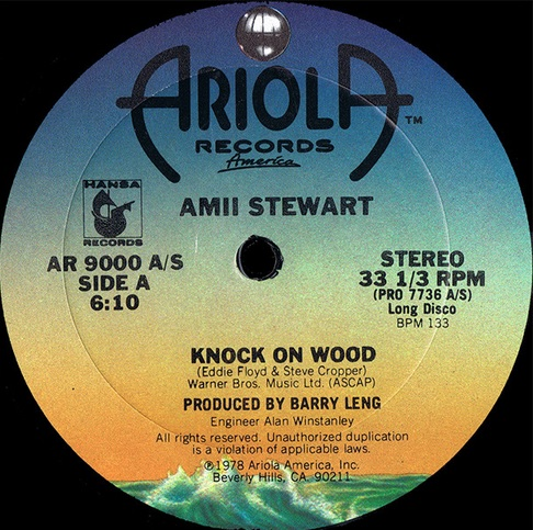 327 4 Amii Stewart Knock on wood 12 inch