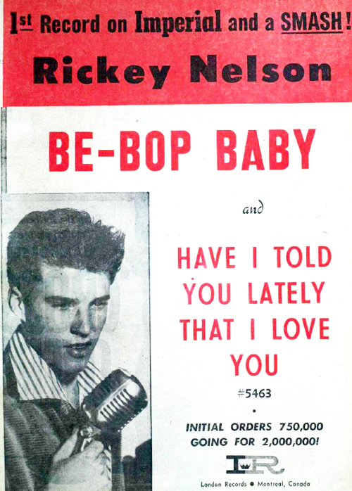 347 8 Ricky Nelson in Billboard