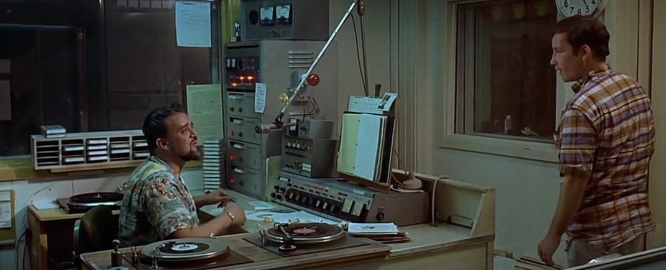387 7 Wolfman Jack in American Graffiti
