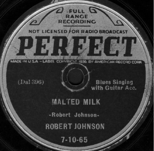 80-5a Johnson Robert Malted Milk (label)