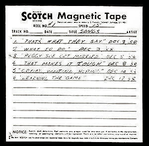 94 - buddy holly tape dec 1958