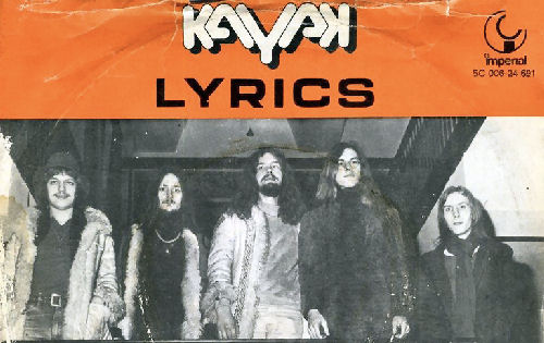 126 - 4 Kayak Lyrics