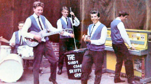 129 - 6 Sandy Coast Skiffle Group 1961