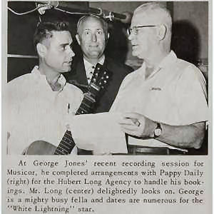 133 - 5 George Jones, Hubert Long, Pappy Daily 1966