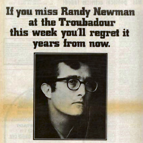 271 2 Randy Newman in 1970