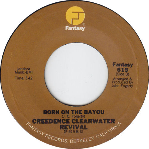 298 6 Creedence Born on the bayou