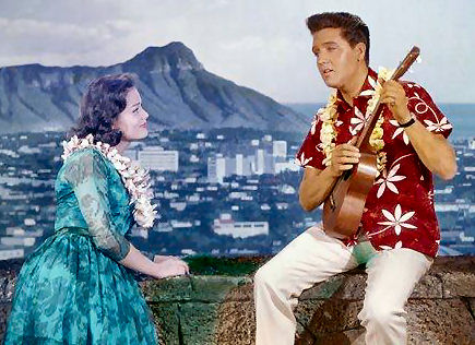 119 - 5 Elvis in Blue Hawaii